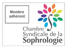 Logo sophrologue adhérent à la Chambre Syndicale de la Sophrologie